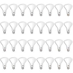 Sunco Lighting 32 Pack BR30 LED Bulb 11W=65W, 2700K Soft Whi