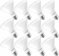 MaxLite BR30 LED Flood Light Bulbs 8W Dimmable 650lm Soft Wh