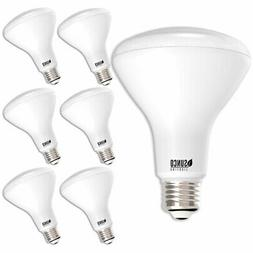 SUNCO 6 PACK BR30 FLOOD LED LIGHT BULB 11W  850 LUMEN 3000K