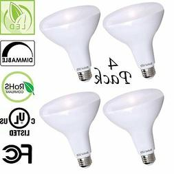 Bioluz LED BR40 LED Bulbs, Up to 120 Watt Equivalent, Indoor
