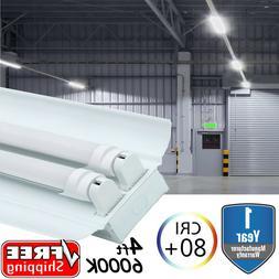 Bulb / Lamp T8 LED Store Commercial Reflector Light Fixture