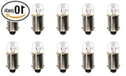 CEC Industries #3894 Bulbs, 12 V, 3 W, BA9s Base, T2-3/4 sha