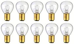 CEC Industries #1196 Bulbs, 12.5 V, 37.5 W, BA15d Base, RP-1
