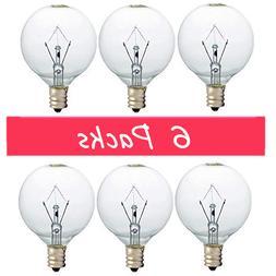 Bulbs Warmer 25 Watt Wax for Full Size Scentsy Warmer, 6 Pac