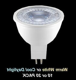 Bulk Wide Beam LED Downlight Globes Bulbs 4.5W 12V MR16 Warm
