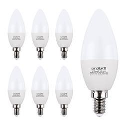 Candelabra LED Bulbs Kakanuo E12 LED Bulb 60W Equivalent Cha