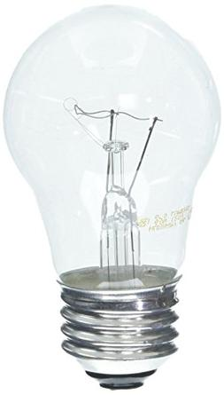 Ge Ceiling Fan Bulb 60 W 650 Lumens Med Base 3-1/2 In. Clear