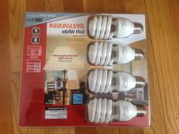 Sylvania CFL Soft White 23w/100w Replacement Bulb 4-pack