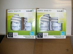 MAXLITE CFL SPIRAL LIGHT BULB 13W  60 WATT EQUIVALENT SOFT W