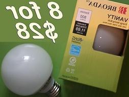 CFL Vanity Globe Bulbs for kitchen bathroom chandelier rece