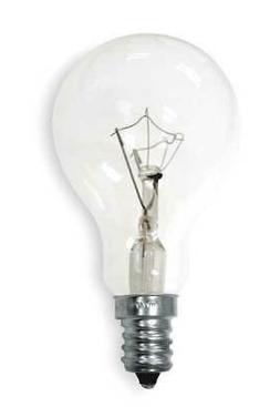 Clear Candelabra-Base Ceiling Fan Bulbs, 2-Pack, 60-Watt