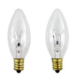 PHILIPS 40-Watt Clear Ceiling Fan Light Bulbs - Candelabra B