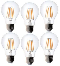 Bioluz LED Clear Edison Style Dimmable Filament, Light Bulb,
