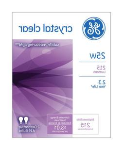 Ge Clear Light Bulbs 25 W 215 Lumens A19 Med Base 4-1/4 In.