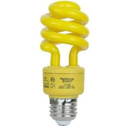 SUNLITE Compact Fluorescent 13W Super Mini Twist Yellow Colo