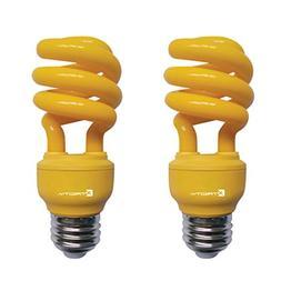 Xtricity 13-Watt Compact Fluorescent T2 CFL Color Spiral Bug