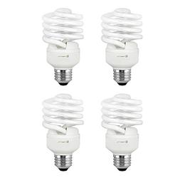 Compact Fluorescent Light Bulb T2 Spiral CFL, 2700k Soft Whi