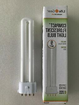 Compact Lantern 9w Fluorescent flash light bulb U bend fits