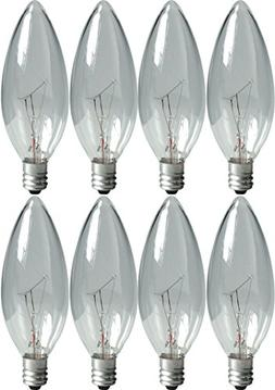 GE Lighting Crystal Clear 76229 60-Watt, 540-Lumen Blunt Tip