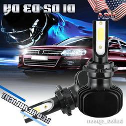 D1S D2S D3S D4S Fanless LED Headlight Kit Bulbs 2000W 300000
