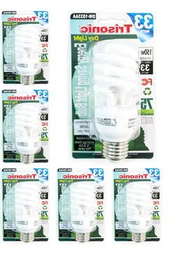 Daylight Bulb Light 33 W Energy 150 Watt Output White Compac
