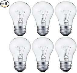 Sterl Lighting 6 pack 40 Watt Decorative A15 Incandescent Li