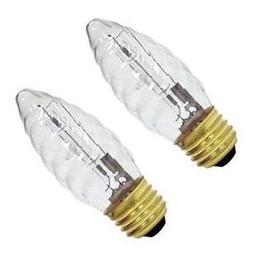 GE Decorative Halogen Light Bulbs, B Type; 40W 485 Lumens; 2