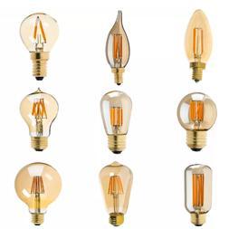 Decorative LED Filament Bulbs - Super Warm Color 2200K - AMB