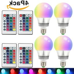 Dimmable 6W LED Spot Light Bulbs 16 Color Changing Lamp RGB