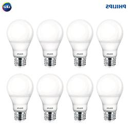 Philips LED Dimmable A19 Light Bulb with Warm Glow Effect: 8