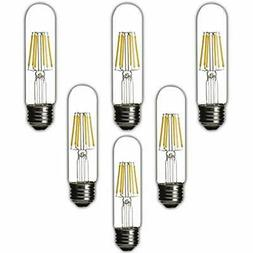Dimmable Edison Led Bulb, 4000K Daylight White, T10 Tubular