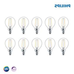 Philips LED Dimmable G16.5 Globe Light Bulb, 180-Lumen, 2700