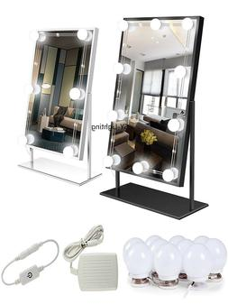 Dimmable Lamp Touch Bathroom Dressing Room Hollywood Mirror