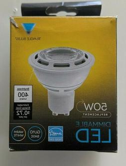 Triangle Bulbs Dimmable LED 5watt 120volts GU10 3000k Warm W