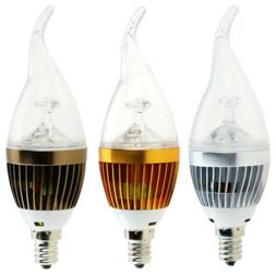 Dimmable LED Candleabra Bulbs E12 6W 8W 10W Flame Chandelier