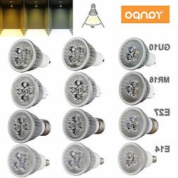dimmable led spotlight bulbs gu10 mr16 e27