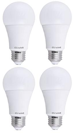 Bioluz LED 100W Dimmable LED Light Bulbs, Soft White 3000K,