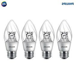 Philips LED Dimmable F15 Soft White Light Bulb with Warm Glo