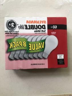 double life 60 watt light bulbs incandescent
