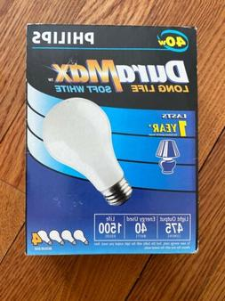 Philips DuraMax Incandescent Light Bulbs 4-Pack Soft White L