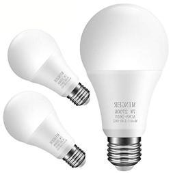 MINGER Sensor Light Bulbs Dusk to Dawn Light Bulb, 7W Smart
