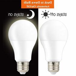 Dusk To Dawn Light Bulb Smart Light Sensor Bulbs Automatic I