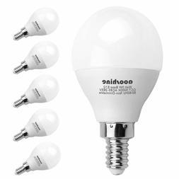 E12 LED Bulb 50 Watts Equivalent, Aooshine 5 Watt LED Candel