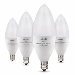 Albrillo E12 Bulb Candelabra LED Bulbs, 60 Watt Equivalent,