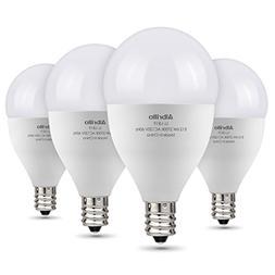 E12 LED Bulb 60W Equivalent - Albrillo 6W LED Candelabra Bul