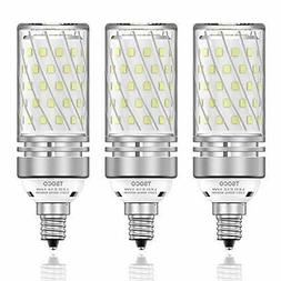 TSOCO E12 LED Bulbs,12W LED Chandelier Light Bulbs,100 Watt