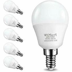 E12 LED Bulb, 5W Candelabra Bulbs 40 Watt Equivalent, Ceilin