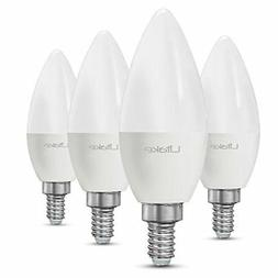 Litake E12 LED Light Bulbs, 60W Equivalent LED Candelabra Bu