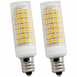 E12 Led Light Bulbs 7Watt 750lm 110V 130V, 75W Halogen Repla