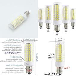 E12 Led S, Led Candelabra Base 75 Watts Equivalent, T3/T4 7W